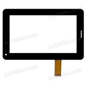 MID-70008AA3-FPC Digitizer Glass Touch Screen Replacement for 7 Inch MID Tablet PC