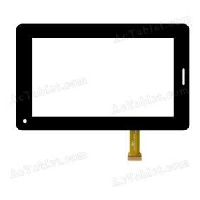 YL-CG013-01A Digitizer Glass Touch Screen Replacement for 7 Inch MID Tablet PC