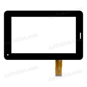 QL07-03 Digitizer Glass Touch Screen Replacement for 7 Inch MID Tablet PC
