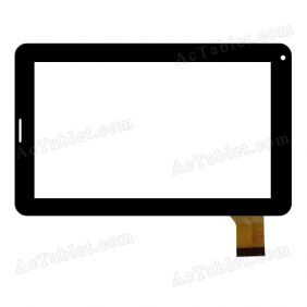 HH-PG070-002A-XX Digitizer Glass Touch Screen Replacement for 7 Inch MID Tablet PC