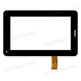 GM070004G1 Digitizer Glass Touch Screen Replacement for 7 Inch MID Tablet PC