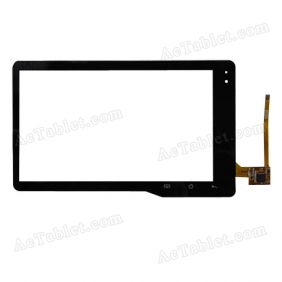 PB70DR8141  Digitizer Glass Touch Screen Replacement for 7 Inch MID Tablet PC