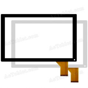 XC-PG1010-016-A0-FPC Digitizer Touch Screen Replacement for 10.1 Inch Tablet PC