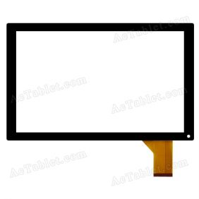 XC-PG1010-016-A2-FPC Digitizer Touch Screen Replacement for 10.1 Inch Tablet PC
