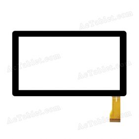 YL-CG003-03A SF Digitizer Glass Touch Screen Replacement for 7 Inch MID Tablet PC
