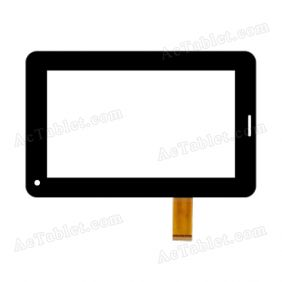 FM705801KDDigitizer Glass Touch Screen Replacement for 7 Inch MID Tablet PC