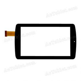 GT70XHD Digitizer Glass Touch Screen Replacement for 7 Inch MID Tablet PC