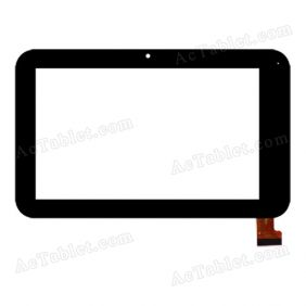 TOPSUN_C0176_A1 Digitizer Glass Touch Screen Replacement for 7 Inch MID Tablet PC
