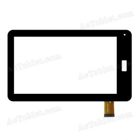 RP-024A-7.00-FPC-01 Digitizer Glass Touch Screen Replacement for 7 Inch MID Tablet PC