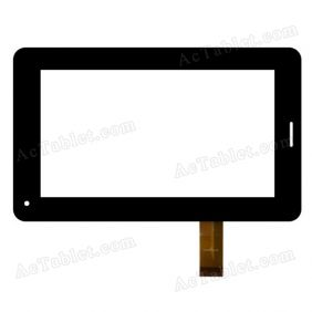 CS-CTP7032-A FPC Digitizer Glass Touch Screen Replacement for 7 Inch MID Tablet PC