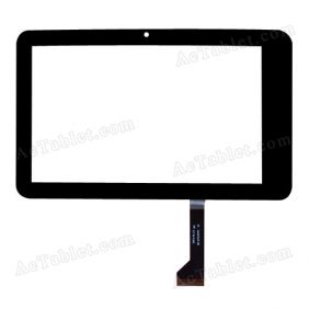 SD-07010V1FPC  Digitizer Glass Touch Screen Replacement for 7 Inch MID Tablet PC