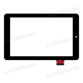 F0488 X(0493-V03) Digitizer Glass Touch Screen Replacement for 7 Inch MID Tablet PC