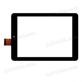 YCF0284-C Digitizer Glass Touch Screen Replacement for 7.9 Inch MID Tablet PC