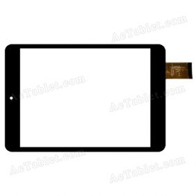C196131A7-DRFPC151T Digitizer Glass Touch Screen Replacement for 7.9 Inch MID Tablet PC