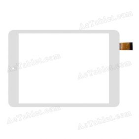 QSD E-C08057-02/01  Digitizer Glass Touch Screen Replacement for 7.9 Inch MID Tablet PC