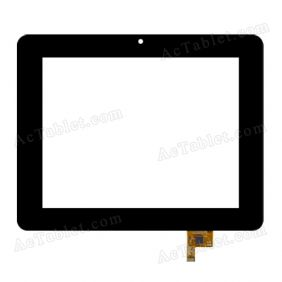 PB80DR8371 Digitizer Glass Touch Screen Replacement for 8 Inch MID Tablet PC