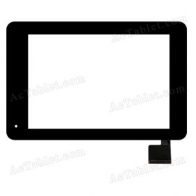 QSD E-C8003-03 Digitizer Glass Touch Screen Replacement for 8 Inch MID Tablet PC