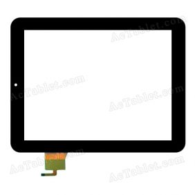 PB80A8507-FT Digitizer Glass Touch Screen Replacement for 8 Inch MID Tablet PC