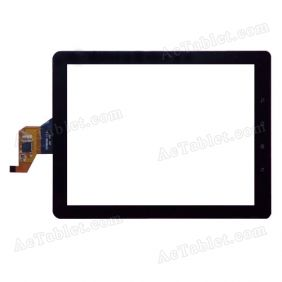 TTCT080020 Digitizer Glass Touch Screen Replacement for 8 Inch MID Tablet PC