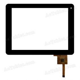 CZY6057B-FPC Digitizer Glass Touch Screen Replacement for 8 Inch MID Tablet PC
