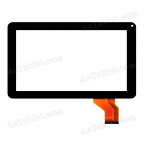 FHF090005 Digitizer Glass Touch Screen Replacement for 9 Inch MID Tablet PC