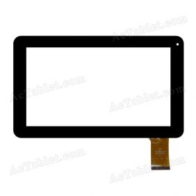 QSD E-C9012-01 Digitizer Glass Touch Screen Replacement for 9 Inch MID Tablet PC