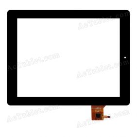 PB97JG8671-R1 Digitizer Glass Touch Screen Replacement for 9.7 Inch MID Tablet PC