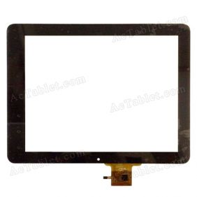 E-C97002-02 FPC Digitizer Glass Touch Screen Replacement for 9.7 Inch MID Tablet PC