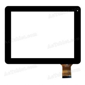 QSD 701-97068-01 Digitizer Glass Touch Screen Replacement for 9.7 Inch MID Tablet PC