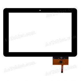 QSD E-C100013-04  Digitizer Glass Touch Screen Replacement for 10.1 Inch MID Tablet PC