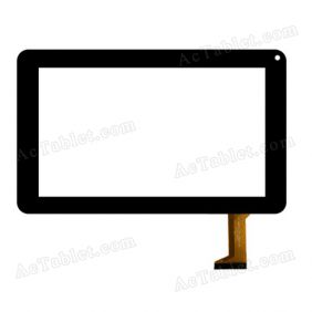 "Digitizer Touch Screen Replacement for PolaTab Q9.0 Powerhouse 9"" Inch MID Tablet PC"