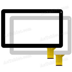 FPC100-014 Digitizer Glass Touch Screen Replacement for 10.1 Inch MID Tablet PC