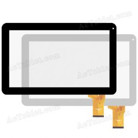 XN1338V1 20140514 RHH Digitizer Glass Touch Screen Replacement for 10.1 Inch MID Tablet PC