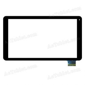 Digitizer Touch Screen Replacement for Azpen A1040 AZPA1040B 10.1 Inch Quad Core Tablet PC
