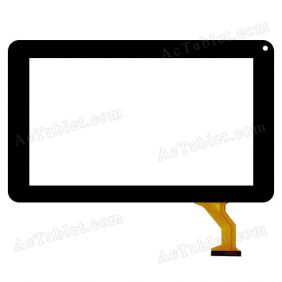 FX-C9.0-0068A-F-02 Digitizer Glass Touch Screen Replacement for 9 Inch MID Tablet PC