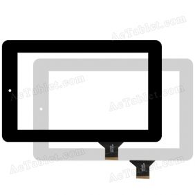 "Digitizer Touch Screen Replacement for eStar Beauty HD Quad Core MID 7188 7"" Inch Tablet PC"