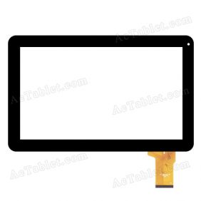 MF-595-101F-2 FPC 201401009 FHX Digitizer Glass Touch Screen Replacement for 10.1 Inch Tablet