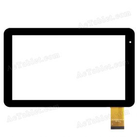 FPC-CY101072(YC0320)-00 Digitizer Touch Screen Panel Replacement for 10.1 Inch MID Tablet PC