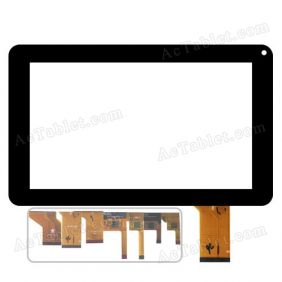 Touch Screen Replacement for Hipstreet FLARE 2 HS-9DTB7A-8GB HS-9DTB7A-4GB Tablet PC