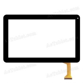 HH101FPC-116A 2014-10-16 -M HX Digitizer Touch Screen Replacement for 10.1 Inch Tablet PC