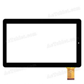 TOPTOUCH TPT-101-338-2 Digitizer Glass Touch Screen Replacement for 10.1 Inch MID Tablet PC