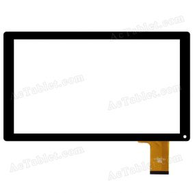 YTG-C10045-F1 Digitizer Glass Touch Screen Replacement for 10.1 Inch MID Tablet PC