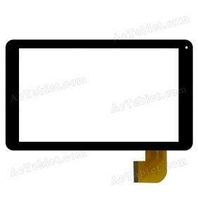 FPC-UP090326A1-V01 Digitizer Glass Touch Screen Replacement for 9 Inch MID Tablet PC