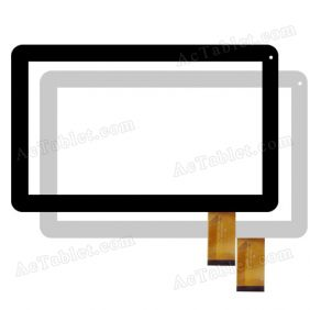 DH-1033A1-PG-FPC124 Digitizer Glass Touch Screen Replacement for 10.1 Inch MID Tablet PC