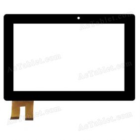 TRUST 1210-0290 HXD-1239 Digitizer Glass Touch Screen Replacement for 10.1 Inch MID Tablet PC