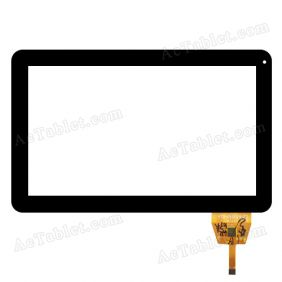 Touch Screen Replacement for Hipstreet Equinox 3 HS-10DTB8-8GB 10.1 Inch Tablet PC