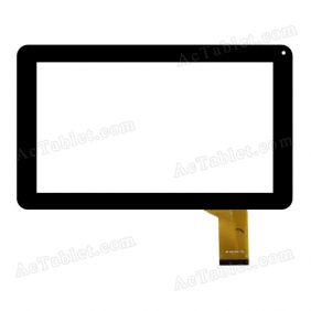 Replacement MF-626-090F FPC 3T Digitizer Touch Screen for 9 Inch Tablet PC
