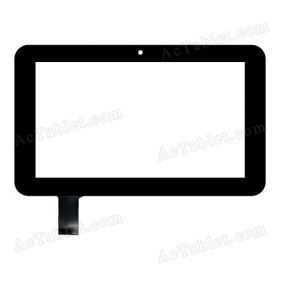 HS1182 V1 076 Digitizer Glass Touch Screen Replacement for 7 Inch MID Tablet PC