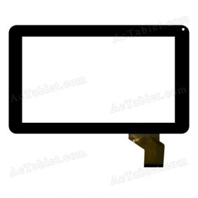 Xn1055-20121127-V1 Digitizer Glass Touch Screen Replacement for 9 Inch MID Tablet PC