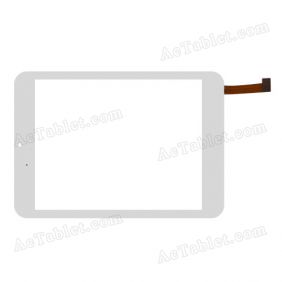 QSD E-C8068-01 Digitizer Glass Touch Screen Replacement for 7.9 Inch MID Tablet PC